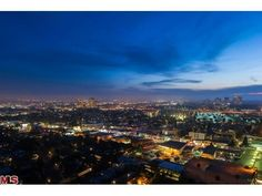 View from the Penthouse at Californian condos in LA http://www.highrises.com/los-angeles/the-californian-condos/