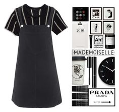"""Mademoiselle"" by hevsyblue2 ❤ liked on Polyvore featuring Theory, Topshop, Chanel, Monki, Lemnos, Natural Life, Prada, Eichholtz, Bobbi Brown Cosmetics and Byredo"