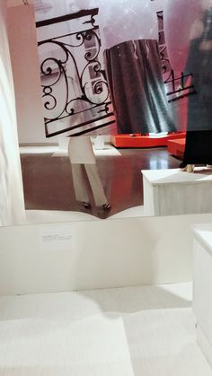 Martin Margiela, Bathtub, Curtains, Home Decor, Standing Bath, Bathtubs, Blinds, Decoration Home, Room Decor