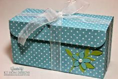 PIN IT FRIDAY FAVS: One Sheet Cookie Box and More* Pinned from KT Hom Designs…