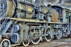 """""""Ghost Trains Of Scranton"""" On Display At Steamtown National Historic Site"""