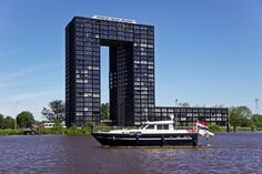 Abel Tasman Toren. Eemskanaal. Groningen. The Netherlands.