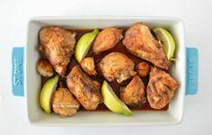 Bloc de recetas: Pollo asado en olla programable