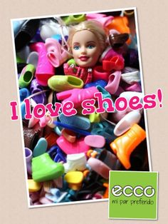 I love shoes!  Búscanos en facebook como /eccocenter