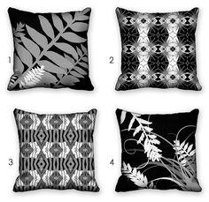 pillow cover set pick 2 black white