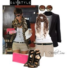 """An easy but very stylish outfit for day! """"DAY STYLE"""" by nickiecrow on Polyvore"""
