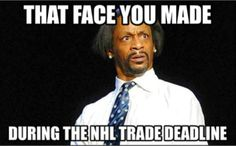 When you see a trade happen