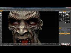 3D Coat Zombie Tutorial - Part 2 - Painting - YouTube