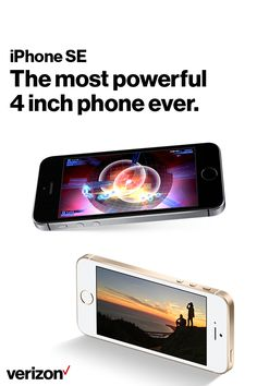 iPhone SE is the most powerful 4-inch phone ever. It features advanced camera capabilities and incredible processing power packaged in a beloved design.