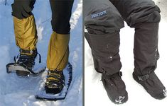 A versatile and durable waterproof/non-breathable overshoe suitable for snowshoeing, snow play, and snow camping in frigid temperatures, but heavier than we would like.