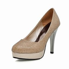 Leatherette+And+Sparkling+Glitter+Stiletto+Closed+Toe+Platform+Pumps+(More+Colors)+–+GBP+£+19.43