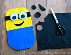 Build a Minion Busy Bag and other fun prek activities