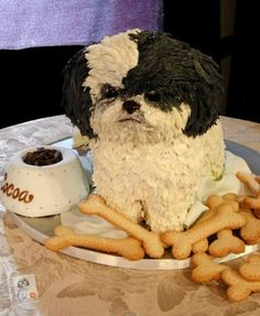 A Tzu cake! Way to cute to eat!