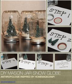 """Received these """"snow jars"""" as a x-mas gift ..so pretty. (from local antique store in Camas)"""