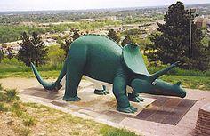 "Dinosaur Park, Rapid City, South Dakota in ""Top 50 American Roadside Attractions"""