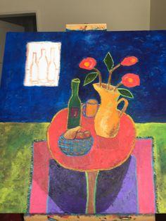 Work in progress Acrylic