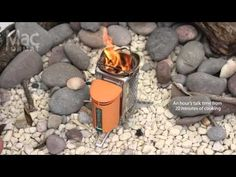BioLite CampStove - Use dry twigs and wood for fire fuel and charge your electronic devices.