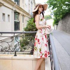 Korean Fashion Online Store 韓流 Trends Luxe Asian Women 韓国 Style Shop korean clothing Freesia banding Dress