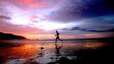 Sunset, Puerto Lopez Beach Ecuador