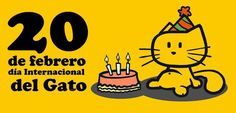 Feliz Día Internacional del Gato - 20 de Febrero (20 fotos) - Imagenes y Carteles