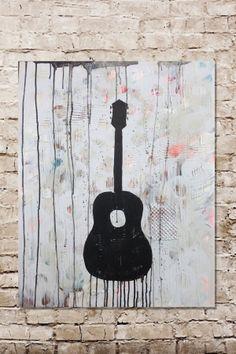 Guitar 2 Canvas Wall Art
