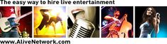 Alive Network Entertainment Agency | Book Live UK Bands for Hire