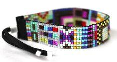 'JR1O Helsinki' Handwoven Beaded Bracelet by Julie Rofman Jewelry