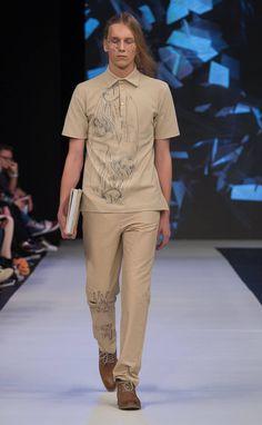 FashionPhilosophy Fashion Week Poland - 13th Edition! Polish fashion designerBAJER OLA BOLA unveiled her new womenswear and menswear collection last Sunday in