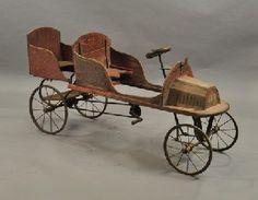 FRENCH TANDEM PEDAL CAR