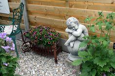 SITZPLATZ GARTENDEKO & TOPFGARTEN / GARTENREISE BELGIEN / HOLLAND Dream Garden, Garden Sculpture, Outdoor Decor, Holland, Home Decor, Viajes, Belgium, The Nederlands, Decoration Home