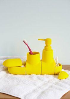 Up Peri-soap Bathroom Organizer Set, #ModCloth