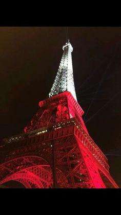 Polish flag on the tower!
