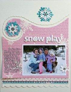 Winter Snow Play **STudio Calico** - Two Peas in a Bucket