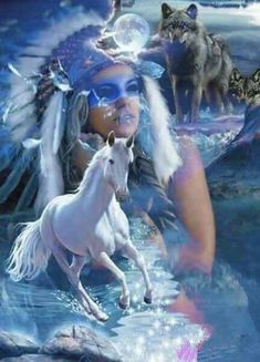 Native American Wolf, Native American Pictures, Native American Artwork, Native American Wisdom, Native American Beauty, Indian Pictures, American Indian Art, Wolf Pictures, American Indians