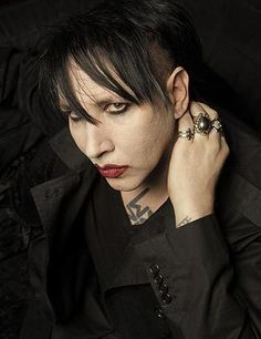 "Rocker Marilyn Manson has a new album coming titled ""Born Villain."""