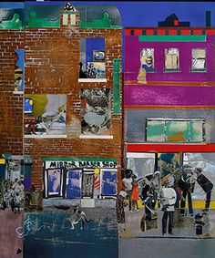 Artist: Romare Bearden (American, Charlotte, North Carolina New York). Date: Medium: Cut and pasted printed, colored and metallic papers, . Ecuador, African American Artist, American Artists, Peru, Chile, Romare Bearden, 17th Century Art, Collage Artists, Art Classroom