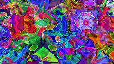 Digital Flowers | Flowers' - Original Digital Abstract - Henderson Art - Free Download