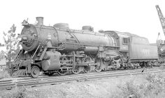 L&N RR 2-8-2 locomotive #1585