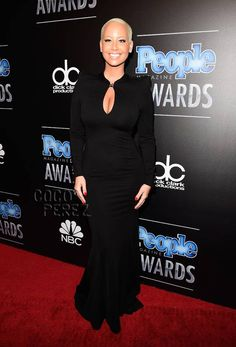 Amber Rose Keeps It Simple In All Black Everything At The People Magazine Awards!