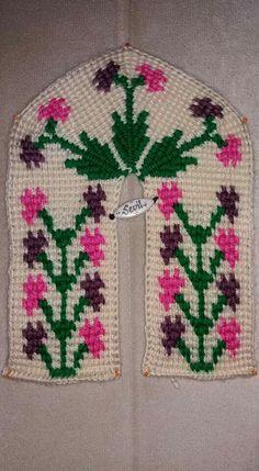 Tunisian Crochet, Knit Crochet, Cross Stitch, Knitting, Holiday Decor, Handmade, Slippers, Crafts, Women