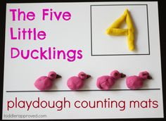 Toddler Approved!: Hands-on fun with The Five Little Ducklings #readforgood