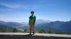 My son Zackery de Clare near Mount Saint Helens in Washington State. Copyright © 2015 by Natalie de Clare.