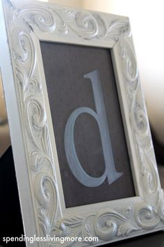 This is a super simple monogrammed glass etching project and bonus...I can use my Cricut!