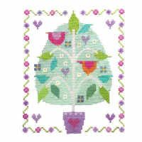 """Patchwork Squares (CSKPS9)  Contemporary cross stitch kit designed by The Stitching Shed.  Contents: 14 count aida fabric, anchor threads, needle, chart and full instructions. (sampler kits also include relevant alphabet and number charts).  Size: 3.5"""" x 4.5"""".  RRP £13.50   *Usually dispatched within 5 working days*"""