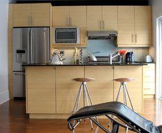 Bamboo & Faux Brick kitchen.#natural #neutral | Kitchens I ...