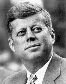 John Fitzgerald Kennedy (May 29, 1917 – Nov 22, 1963), was an American politician who served as the 35th President of the United States from January 1961 until his assassination in November 1963. The Cuban Missile Crisis, The Bay of Pigs Invasion, the Nuclear Test Ban Treaty, the establishment of the Peace Corps, developments in the Space Race, the building of the Berlin Wall, the Civil Rights Movement, the Space Race, and increased involvement in Vietnam.