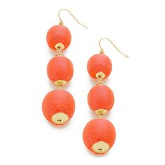 Soiree Earring Coral