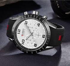 Men's Fashion Luxury Watch Stainless Steel Analog Quartz Sport Army Wristwatches Sport Watches, Watches For Men, Watches Online, Watch Brands, Quartz Watch, Bag Accessories, Army, Men Watch, Mens Fashion