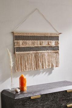 Shop Noah Wall Hanging at Urban Outfitters today. Tapestry Weaving, Wall Tapestry, Weaving Art, Long Walls, Bohemian Bedding, Woven Wall Hanging, Wall Hanger, Key Hangers, Bambi