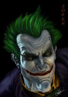 Joker - Arkham Asylum by ~whiteheaveneleven